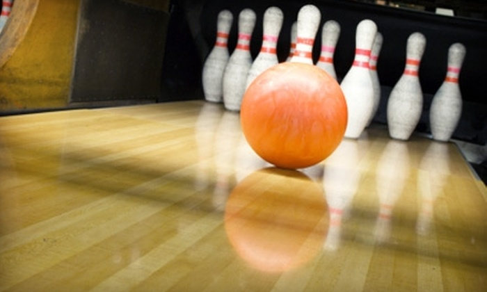 Don Carter Lanes - Multiple Locations: $5 for Two Games of Open Bowling and One Shoe Rental at One of Three Rockford-Area Bowling Centers (Up to $10.90 value)