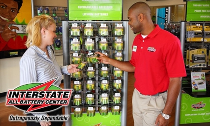 Interstate All Battery Center - Multiple Locations: $10 for $25 Worth of Batteries and More from Interstate All Battery Center