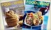 """Food & Wine"" Magazine - Port Jefferson: $12 for 15 Issues of ""Food & Wine"" Magazine ($24.99 Value)"