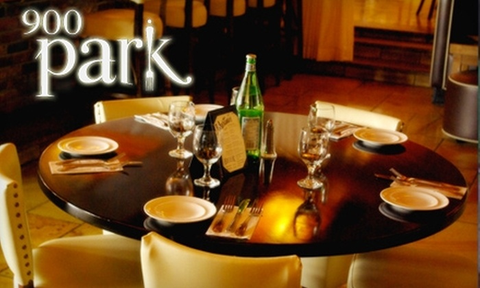 900Park - Morris Park: $20 for $40 Worth of Upscale Italian Fare and Drinks at 900Park in Morris Park