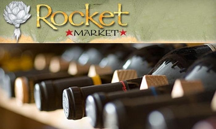 Rocket Market - Moran Prairie: $10 for a Wine-Tasting Class at Rocket Market
