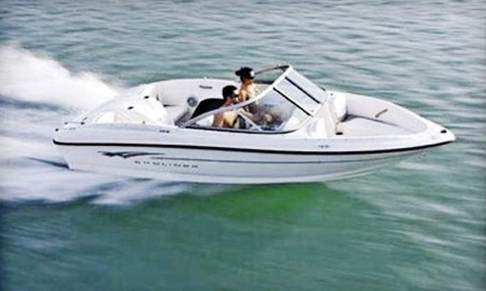 Thunderboat Marine Service Center - Dania Beach: Daylong Boat Rental for Up to Six or Up to Eight People from Thunderboat Marine Service Center in Dania Beach (Half Off)
