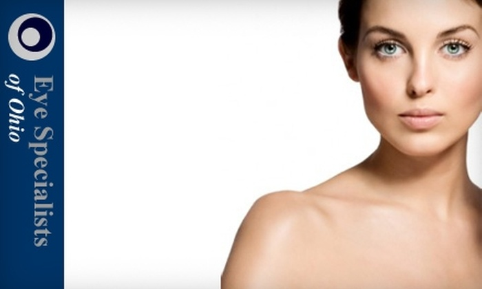 Aesthetic Division - Grove City: Facial Treatments at Eye Specialists of Ohio Aesthetic Division. Choose from Three Options.