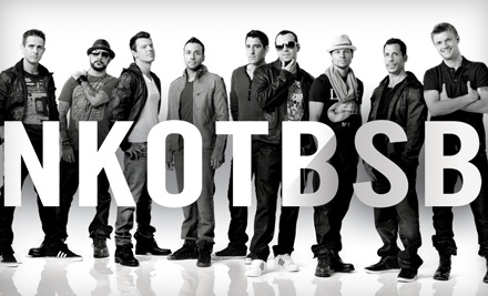 Live Nation: New Kids on the Block and Backstreet Boys at Scotiabank Place on Thu., Aug. 4 at 7:30PM: Sections 305-310 & 322-325 - New Kids on the Block and Backstreet Boys in Ottawa