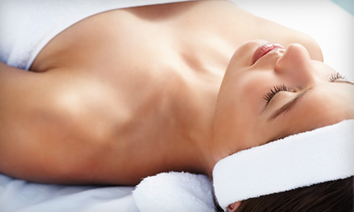 Oasis Club and Spa for Women - Shenandoah: $55 for 30-Minute Massage and 30-Minute Facial or $32 for Brazilian Hair Removal at Oasis Club and Spa for Women in The Woodlands