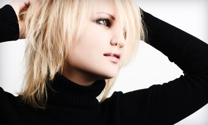 A Zen Salon - Colorado Springs: Haircut and Color or One, Two, or Three Keratin Treatments at A Zen Salon