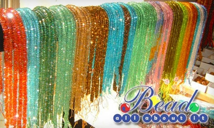 Bead All About It - Gainesville: $10 for $20 Worth of Beading Supplies and Classes at Bead All About It