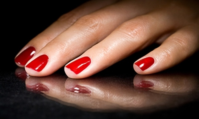 Details Hair & Nail Studio - Walsh Acres - Lakeridge: $25 for a Shellac Manicure at Details Hair & Nail Studio ($55.50 Value)