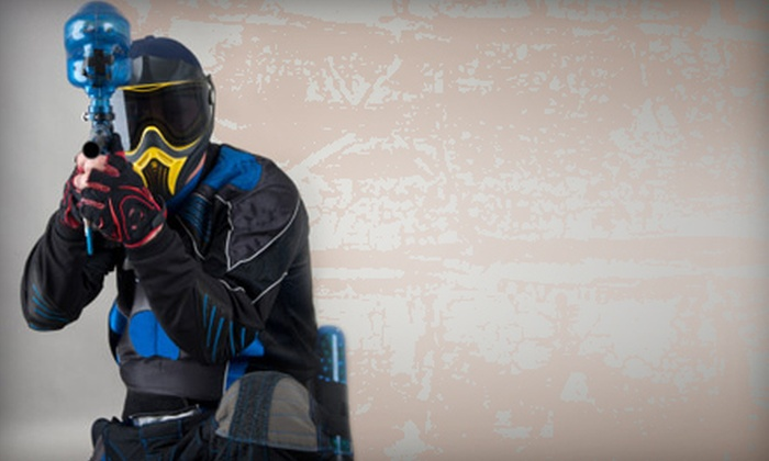 Phoenix Paintball Division - Athens: $20 for an All-Day Paintball Package at Phoenix Paintball Division ($40 Value)
