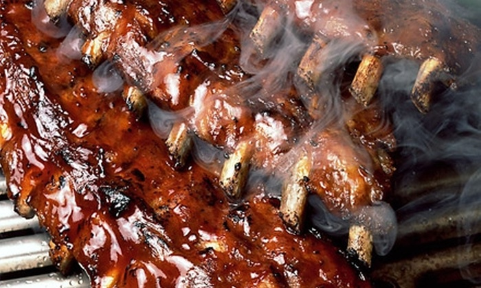 Phoebe's Bar-B-Q - Multiple Locations: $12 for $25 Worth of Take-Out Smokehouse Fare at Phoebe's Bar-B-Q