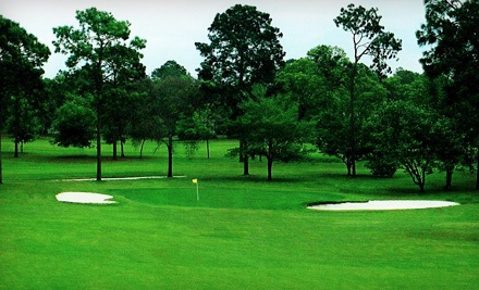 18-Hole Round of Golf for Two Including Cart Rental and Two Buckets of Range Balls - Rainbow's End Golf Club in Dunnellon