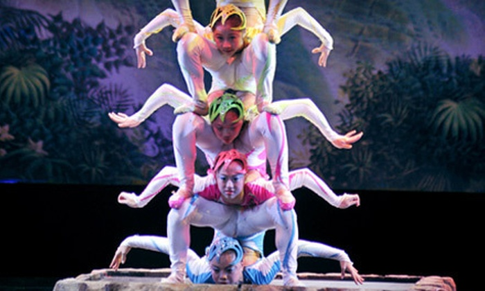 National Chinese Acrobats with the Kitchener-Waterloo Symphony - Downtown Toronto: National Chinese Acrobats with the Kitchener-Waterloo Symphony at Sony Centre on May 12 (Up to 53% Off). Four Options Available.