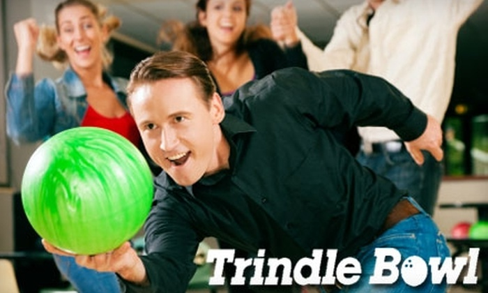 Trindle Bowl - Hampden: $11 for Two Games of Bowling, Two Pairs of Rental Shoes, and Two Large Fountain Sodas at Trindle Bowl