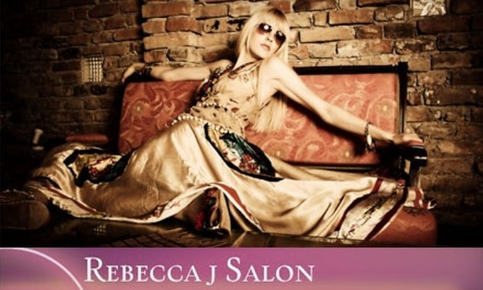 Rebecca j Salon - Parker: $49 for $110 Worth of Hair and Waxing Services at Rebecca j Salon in Parker