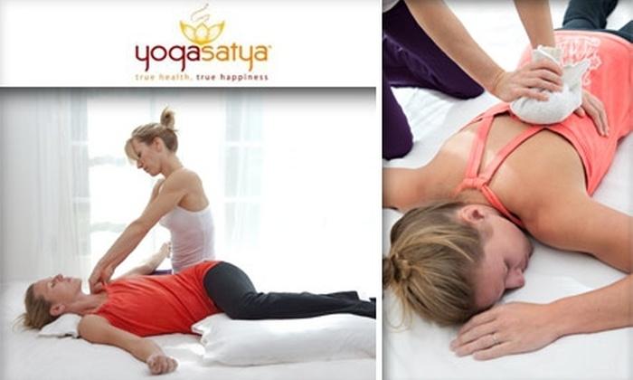 Yoga Satya - West Highland: $47 for a 90-Minute Thai Yoga Massage at Yoga Satya