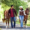 Couples Horseback-Riding Package with a Box of Chocolates