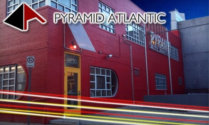 Pyramid Atlantic Art Center - Multiple Locations: $20 for Membership to Pyramid Atlantic Art Center Plus Admission to the Book Arts Fair ($40 Value)