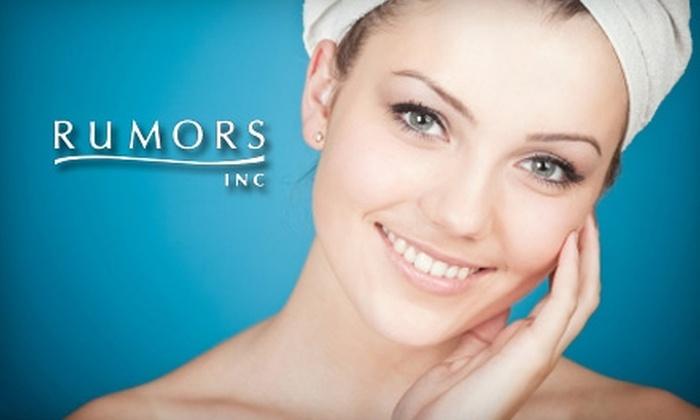 Rumors Salon & Spa - Colonie: $30 for a European Facial at Rumors Salon & Spa ($60 Value)