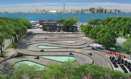 Polson Pier - Go-Karts at Polson Pier in Toronto