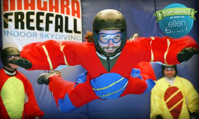 Niagara Freefall & Interactive Center - Niagara Falls: $69 for a Six-Minute Indoor Skydiving Flight at Niagara Freefall & Interactive Center in Niagara Falls ($141.60 Value)