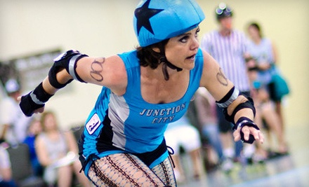 Junction City Roller Dolls Double Header at the Davis Conference Center on Sat., Aug. 20 at 6:00PM: General Admission Seating - Junction City Roller Dolls in Layton