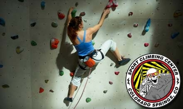 Sport Climbing Center - Northeast Colorado Springs: $10 for Training, Gear Rental, and a Full Day of Indoor Rock Climbing at Sport Climbing Center ($22 value)