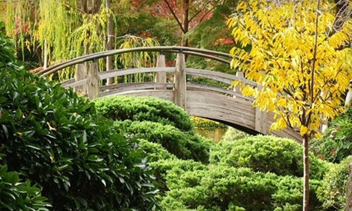 Fort Worth Botanic Garden - Fort Worth: Two Tickets or Five Tickets to the Japanese Garden at Fort Worth Botanic Garden