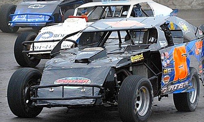 Volusia Speedway - Deleon Springs: $17 for a Racetrack Experience for Two at Volusia Speedway (Up to $34 Value)