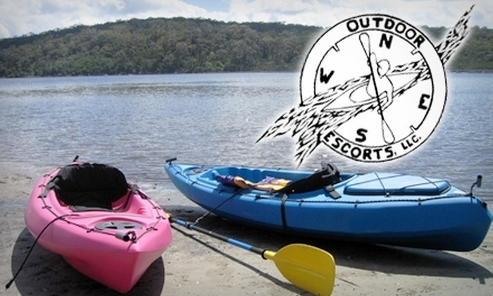 Outdoor Escorts - Detroit: $20 for a Three- to Four-Hour Kayak Rental from Outdoor Escorts ($45 Value)