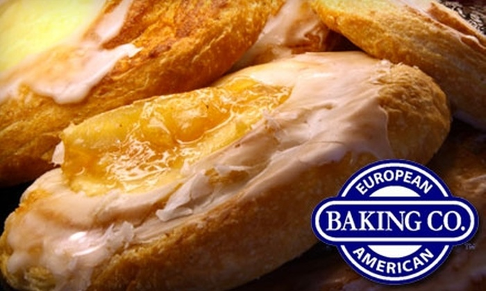 European American Bakery Café - Fort Myers: $10 for $20 of Casual Eats and Drinks at European American Bakery Café