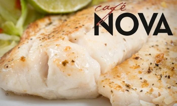 Café Nova - Guthrie: $15 for $30 Worth of Contemporary American Cuisine and Drinks at Café Nova