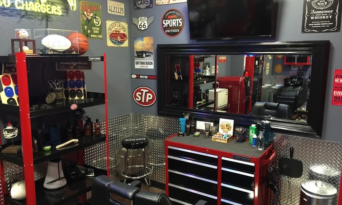Man Cave Barber Hamilton : Haircut with shampoo and style the man cave barbershop