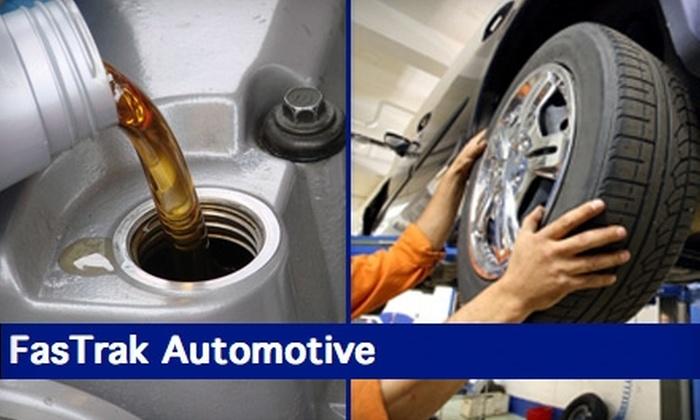 FasTrak Automotive  - Northwest Harris: $10 Oil Change and Tire Rotation at FasTrak Automotive