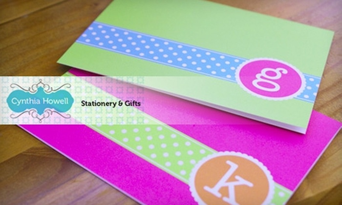 Cynthia Howell Stationery & Gifts - North Chattanooga Neighborhood Association: $40 for $80 Toward Custom Wedding Printing or $15 for $30 Worth of In-Store Stationery and Gifts at Cynthia Howell Stationery & Gifts