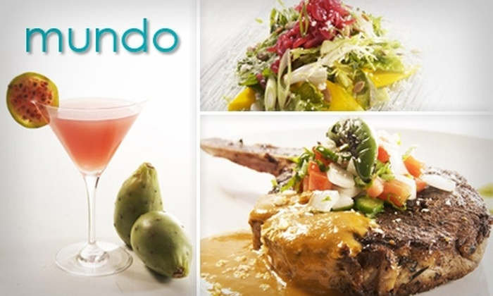 Mundo - Las Vegas: $12 for $25 Worth of Upscale Mexican Lunch Fare at Mundo