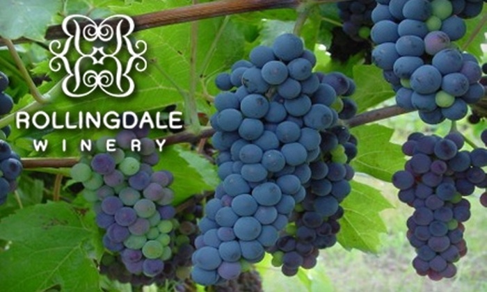 Rollingdale Winery - Kelowna: $35 for $70 Worth of Icewine or Portage at Rollingdale Winery