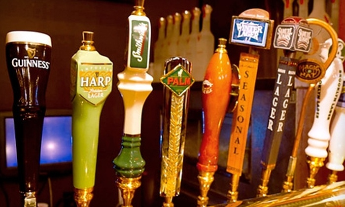 Village Pourhouse - North Jersey: $10 for $20 Worth of American Pub Fare and Drinks at Village Pourhouse in Hoboken