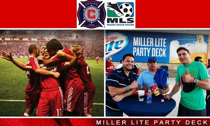 Chicago Fire - Multiple Locations: $30 Tickets to Miller Lite Party Deck for Chicago Fire vs. the Columbus Crew for 09/20, 2 p.m. Plus a Free Chicago Fire Flag ($50 Value)