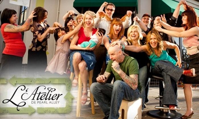 L'Atelier - Downtown Santa Cruz: $75 for $150 Worth of Salon Services at L'Atelier