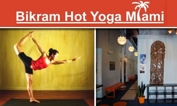 Bikram Hot Yoga Miami - Coral Way: $10 for One Lesson at Bikram Hot Yoga Miami ($25 Value)