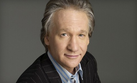 Bill Maher at Gibson Amphitheatre at Universal CityWalk on Sat., Nov. 5 at 8:15PM: Sections 14-23, Rows N-W - Bill Maher in Universal City