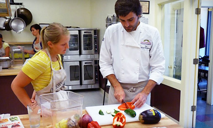 Auguste Escoffier School of Culinary Arts - Interurban Park: $70 for a Cooking Class for Two at Auguste Escoffier School of Culinary Arts in Boulder (Up to $230 Value)