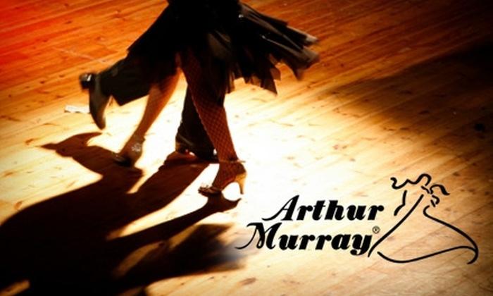 Arthur Murray Dance Center - Multiple Locations: $80 for Two 40-Min Custom Private Dance Lessons at Arthur Murray Dance Studio ($280 Value)