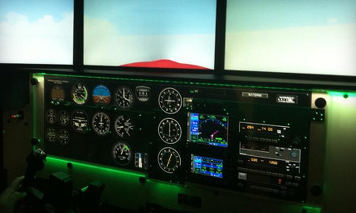 Birmingham Flight Center - Inglenook: 30- or 60-Minute Flight-Simulator Experience at Birmingham Flight Center (Up to 54% Off)