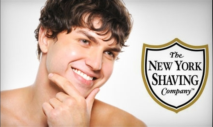 The New York Shaving Company - NoLita: $25 for an Ultimate Shave from The New York Shaving Company in NoLita (a $50 Value)