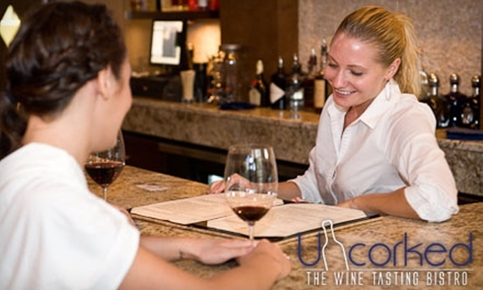 Uncorked - West Hartford: $25 for $50 Worth of Wines and Fine Cuisine at Uncorked: The Wine Tasting Bistro in West Hartford