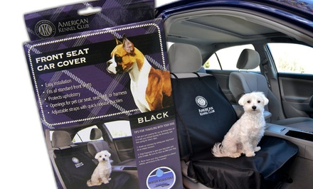 AKC Front Seat Car Seat Cover for Pets in Black or Gray. Free Returns.