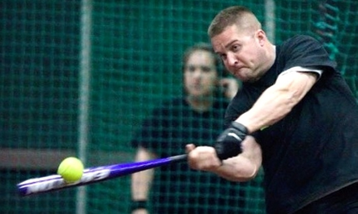 Arena Softball - Industrial Area East: $350 for a Softball or Kickball Team-Building Party for 20 People at Arena Softball in Roseville ($715 Value).