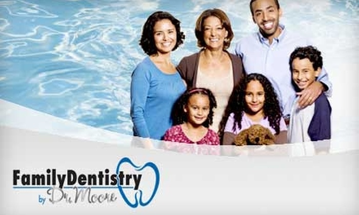 Family Dentistry by Dr. Moore - Rock Hill: $89 for a Dental Exam, Basic Cleaning, and X-rays at Family Dentistry by Dr. Moore in Rock Hill ($235 Value)