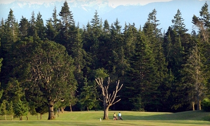 Metchosin Golf Course & Country Club - Victoria: $28 for Nine Holes of Golf for Two with Cart Rental at Metchosin Golf Course & Country Club (Up to $57.12 Value)